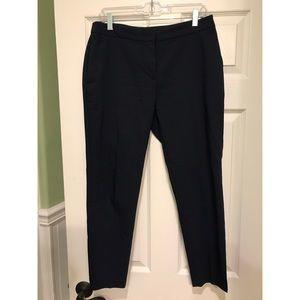 H&M Navy Dress Cropped Pants